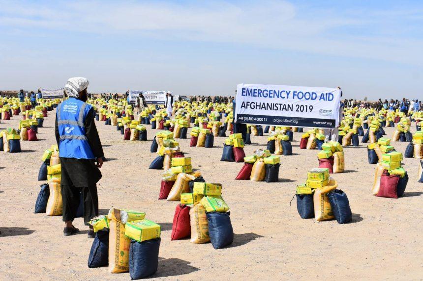 غذائی امداد 2019 افغانستان